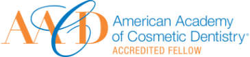 AACD American Academy of Cosmetic Dentistry Accredited Fellow logo.